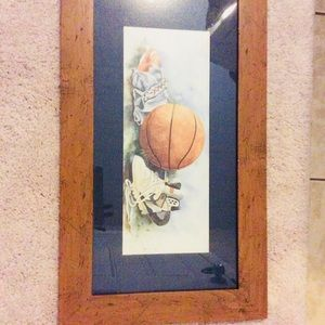 Other - Basketball  wall collection art for kids  room